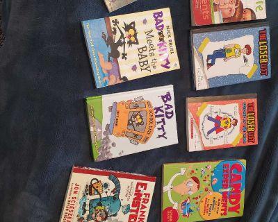 EUC KIDS CHAPTER BOOKS