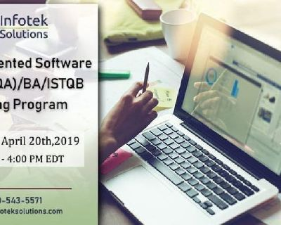 IT Job-Oriented QA Automation BA/ISTQB/Database Training Program