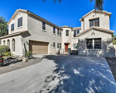 NEW! Grand Gilbert Home w/Private Pool + Fire Pit! - Shamrock Estates