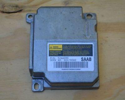 02-05 Saab 9-5 Oem Central Air Bag Control Unit Ecm Ecu 5266093 Srs Module