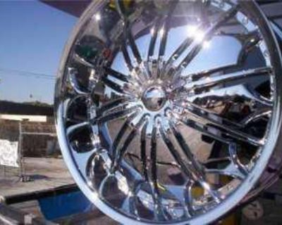 28 Inch Tyfun 706 Wheels Rims Fit Chevy Ford Cadillac Gmc Infinity