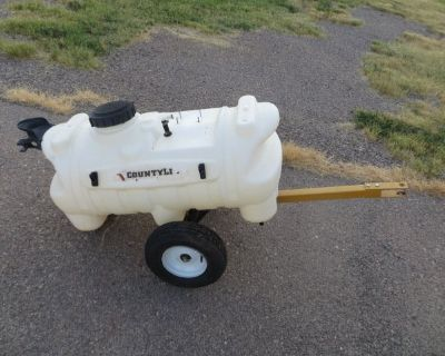 Sprayer tank and trailers