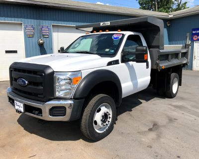 2015 Ford Super Duty F-550 DRW 4WD XLT Dump Truck
