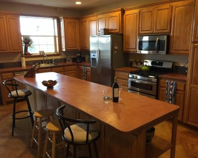 Wallace Ranch w/arena, corrals, fire pit, pool table, outdoor shower & HOT TUB! - Canyon