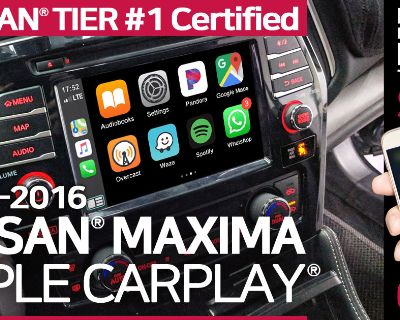 Nissan Maxima OEM-integrated Apple CarPlay Limited-time Deals : EXTENDED till Feb 12, 2021