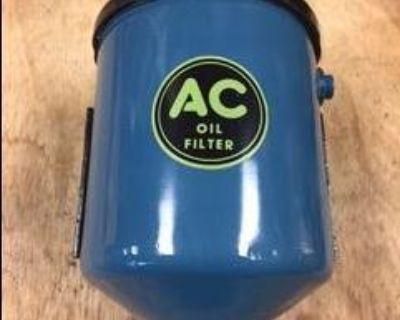 Vintage Restored OEM External Oil Canister/filter in box