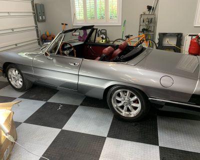 1983 Alfa Romeo Spider Restored for Sale