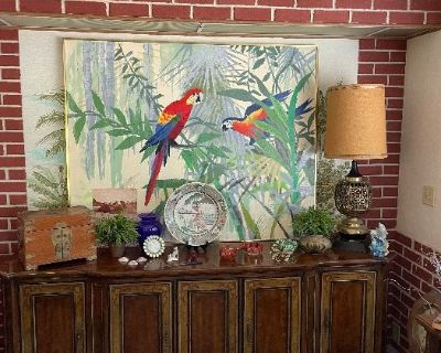 Clean Yucaipa Mobile Home mid century collectibles , furnishings, art, appliances, Housewares & more