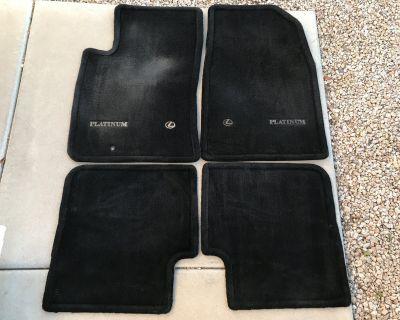 ES300 Platinum Edition Black Floor Mat Set