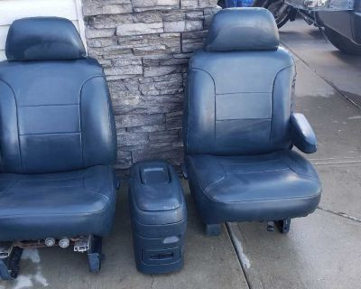 Good Condition Bucket Seat & Console