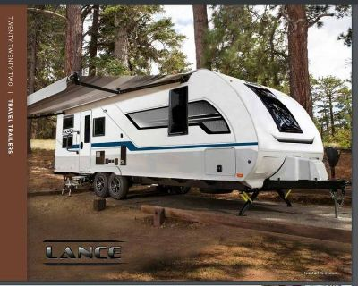 2022 Lance Lance Travel Trailer 7000 Pounds Tow Rating 2465