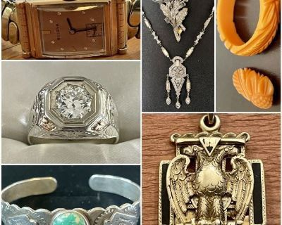 Loveland CO, Estate Jewelry Sale, Four Generations of Antique, Vintage, Fine & Costume Jewelry