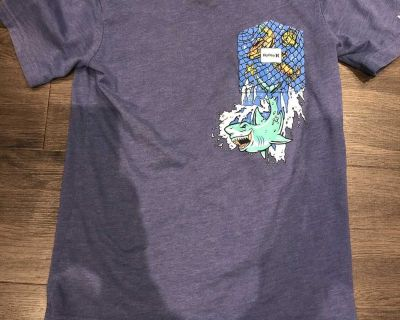 Hurley T-shirt size large 12/13 but fits smaller