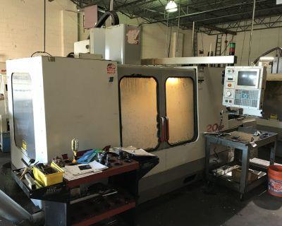 HAAS Model VF4 CNC Milling Machine