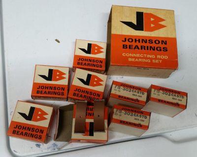 FORD 49 53 49-53 V8 ENGINE ROD BEARINGS JOHNSON JB