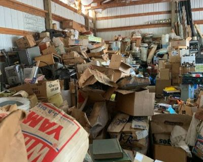 Kenmore Packed to the Brim Tool Sale RV Shed Plus New Tools ++ Final Blowout!