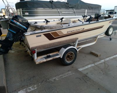 1983 Starcraft 17 FOOT Aluminum Fish Boats Sterling, CO