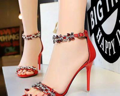 Women shoes on heels