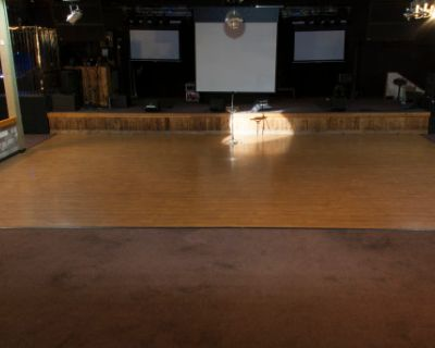 Huge Space with Bar, Stage, Projection Screen & Advanced AV, Fremont, CA