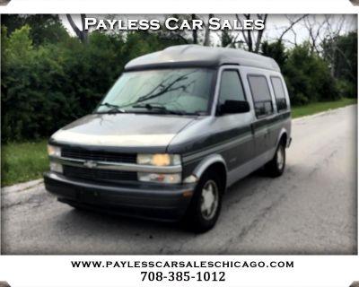 "2000 Chevrolet Astro Cargo Van 111.2"" WB RWD w/YF7"