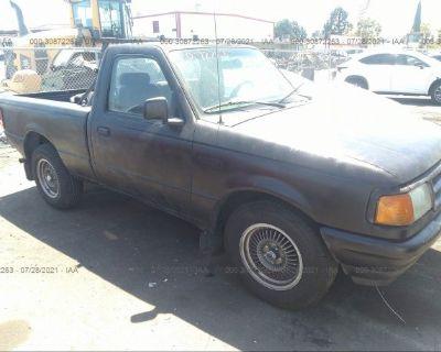 Salvage Black 1997 Ford Ranger