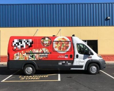 (2) Low Mileage 2018 21' Ram Promaster 3500 EXT Food Trucks Both in Great Shape