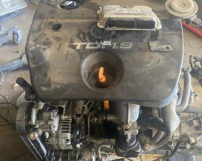 ALH 1.9l Mk4 Vw Volkswagen Turbo Diesel Engine