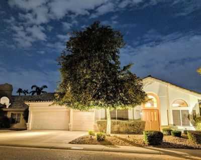 Scottsdale Oasis! 5 BR, 7 beds, pool, Roku TV, 3000+ sq ft, citrus trees - Tatum Square