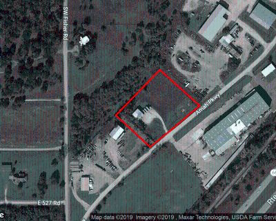 Tall Shop Building on 2.5+ ACRES Zoned I-3 2,500 S.F. Metal Clad Shop/Warehouse Yard is Fenced & Hard Mostly Hardsurfaced