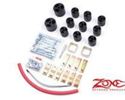 """Zone 3"""" Body Lift Kit Jeep Wrangler Yj 1987-1995 Manual Transmission 4.0l 2.5l"""