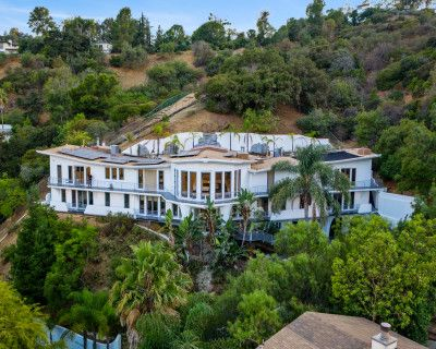 The Wings Mega Mansion In The Hollywood hills, Los angeles, CA