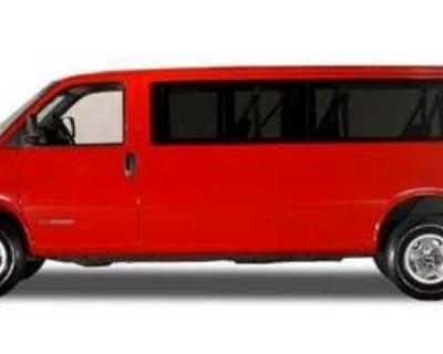 2005 GMC Savana Cargo Van YF7 Upfitter