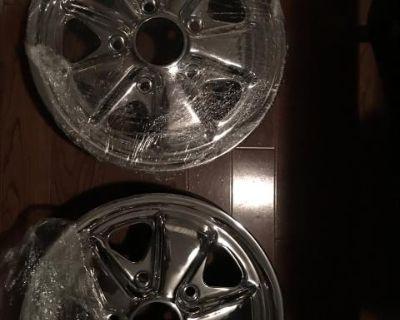 14 x 5 1/2 Porsche Fuchs alloys rims