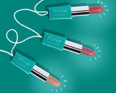 Creamy and Colorful Liquid Matte Lipstick by Thrive Causemetics