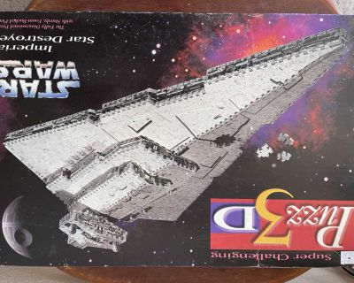 Star Wars Imperial Destroyer 3-D puzzle