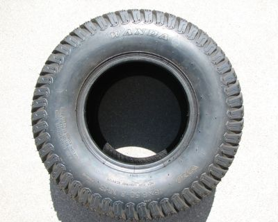 Wanda 18x8.50-8 Tires 4 Ply Garden, Lawn and Golf Cart