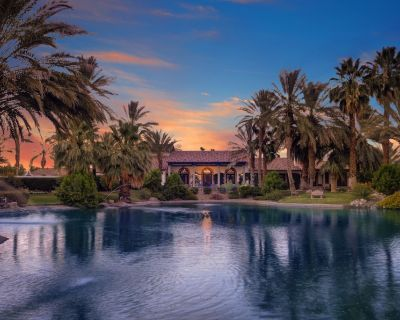 Luxury Estate On Private 5 Acres, Including Private Tennis Court And A Lake! - Desert River Estates