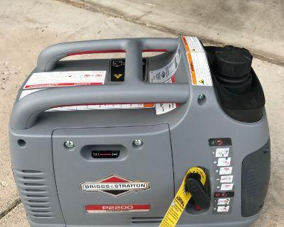 Briggs and Stratton P2200 inverter generator