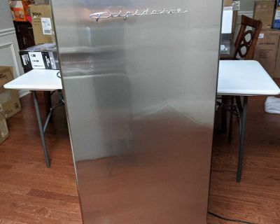 Frigidaire 6.5 cu. ft. Upright Freezer in VCM Stainless Steel Look
