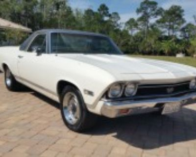 1968 EL CAMINO SS 396 MATCHING NUMBERS CALIFORNIA FARM FIND!