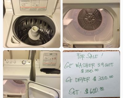 Moving out sale in Ft Meade! GE Washer Dryer/Samsung HDTV 1080p Plasma