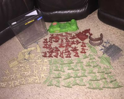 Army Action Figures Play Set!