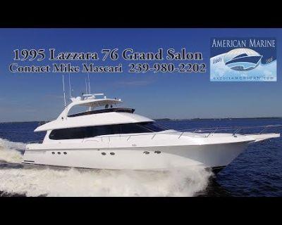 Lazzara Yachts - 76 GRAND SALON