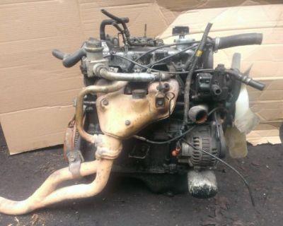 Dodge 1990 Ram 50 4 Cylinder Mitsubishi G63b 2.0 Engine Complete Good Runner