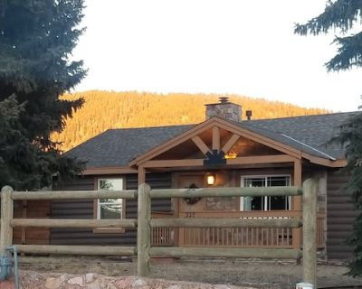 1950's Mountain Cabin - Walking Distance to Downtown Hot Tub & Dog Friendly - Woodland Park