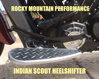RMP NEW Heel and Toe Shifter for Indian Scout
