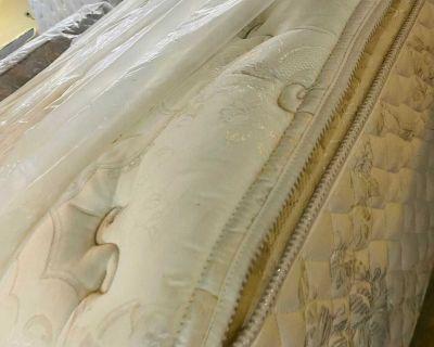King size mattress pillowtop