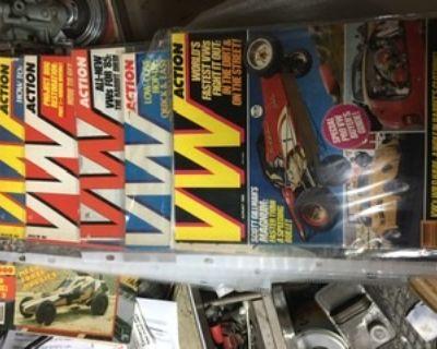 Crazy HUGE VW magazine collection