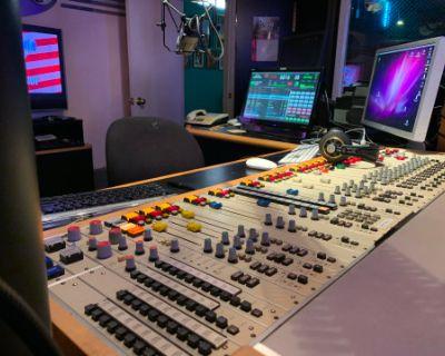 Radio Station Broadcast Studios & TV Insert Stage, North Hollywood, CA