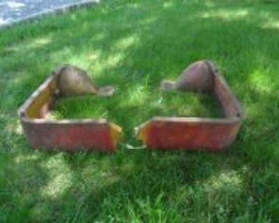 1937 to 1947 ford COE seat risers